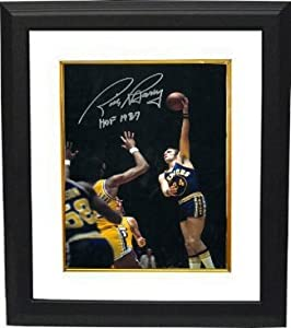 Rick Barry Autographed Hand Signed Golden State Warriors 16x20 Photo HOF 1987 Custom...