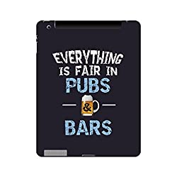 Skin4gadgets EVERYTHING IS FAIR IN PUBS & BARS Tablet Skin for APPLE IPAD 4