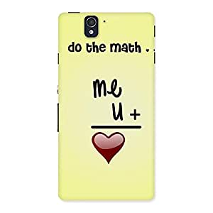 Special Love Maths Back Case Cover for Sony Xperia Z