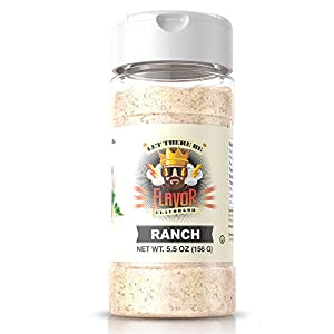 Flavor God #1 Best-Selling, Ranch Seasoning, 1 Bottle, 5 oz
