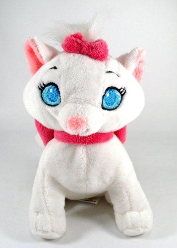 "Disney Plush 7"" Tall Marie White Kitten"