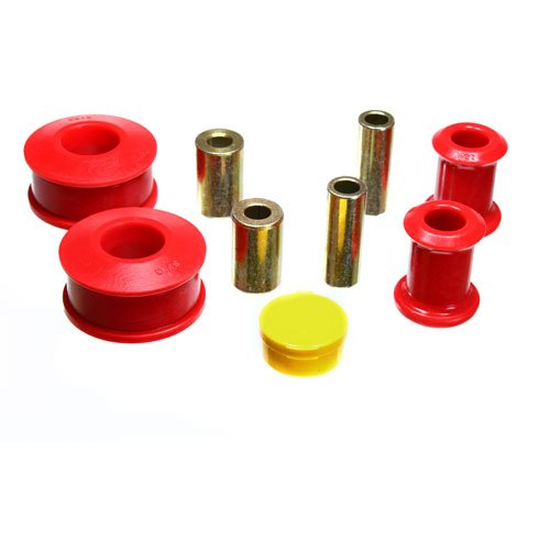 Energy Suspension 15.3117R Control Arm Bushing Set; Red; Front; Performance Polyurethane; (Jetta Control Arm Bushing compare prices)