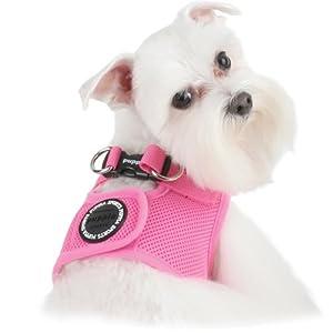 Puppia Vest Dog Harness Pink Medium