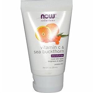 Now Foods Vitamin C and Sea Buckthorn Moisturizer, 2 Ounce