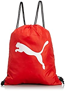 PUMA Turnbeutel Pro Training Gym Sack - Bolsa / Red para balones de fútbol, color negro (black/puma red/white), talla 44 x 34 x 2 cm, 2 l