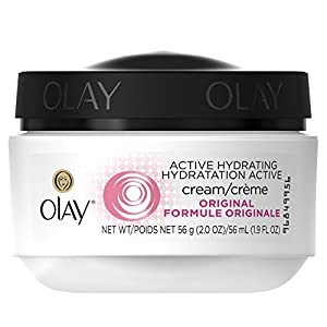 Olay Active Hydrating Cream Original Facial Moisturizer, 2 oz.