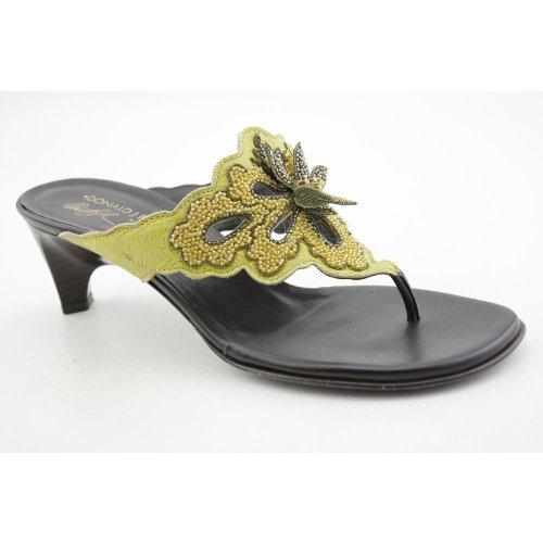 Donald J Pliner Viaa Womens SZ 8 Green Sandals Slides Slides Sandals Shoes