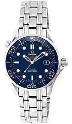 Omega Men's 21230362003001 Seamaster300 Analog Display Swiss Automatic Silver Watch