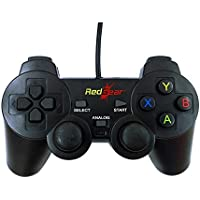 Redgear Smartline Wired Gamepad Plug and Play support for all PC games supports Windows 7 / 8 / 8.1 / 10