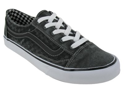 vans old skool checkerboard black espresso amazon