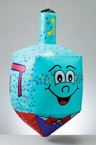 Jumbo Inflatable Dreidel - 24'' Tall - 1