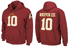 Washington Redskins Robert Griffin III Hoody Eligible Receiver Red Name and Number... by VF