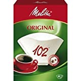 Melitta 102 Coffee Filter Papers White Pack of 80
