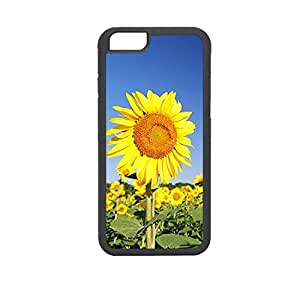 Vibhar printed case back cover for Apple iPhone 6 Plus SunFlowers