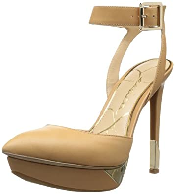 Jessica Simpson Women's Valleyy Platform Pump,Natural,8.5 M US