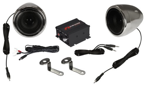 Renegade Rxa100C Powersports Sound System - Set Of 2 (Chrome)
