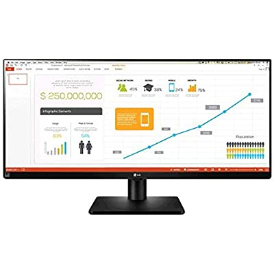 LG 29UB67 21:9 UltraWide Business Monitor - 4 Screen Split - Dual Linkup - Color Calibration