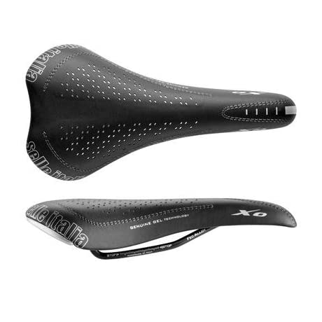 Selle Italia XO Genuine Gel Off-Road Bicycle Saddle - FeC Alloy Tube