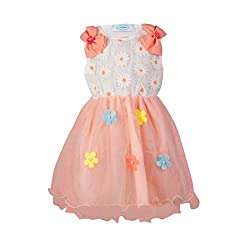 Pikaboo Bow Shouldered Dress - Baby Pink