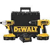DEWALT DCK235C 18-Volt Nicd 2-Tool Kit