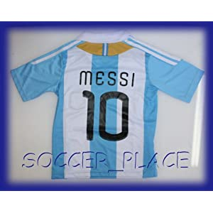 Argentina Messi Football Soccer Jersey