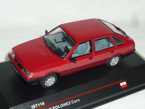 fso Polonez Caro 1991 5 TÜrer Rot ist116 1/43 ixo ist Modell Auto Modellauto