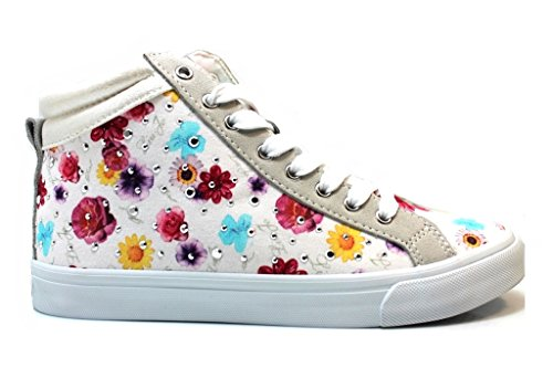 Liu Jo Polacchine Sneakers UM22074X Bianco Scarpe Donna Calzature dal 35 al 40