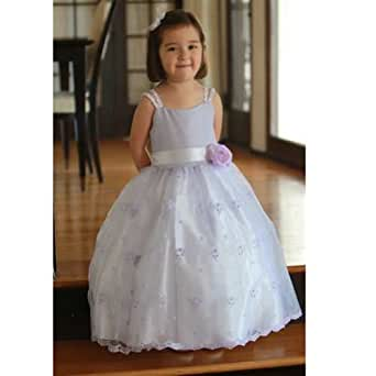 Amazon.com: Angels Garment Light Purple Faux Shantung ...