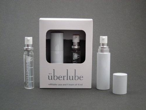 Überlube Good-To-Go Travel Case White With 15Ml Refill