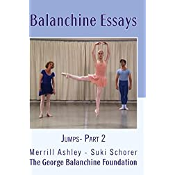 Balanchine Essays Jumps - Part 2