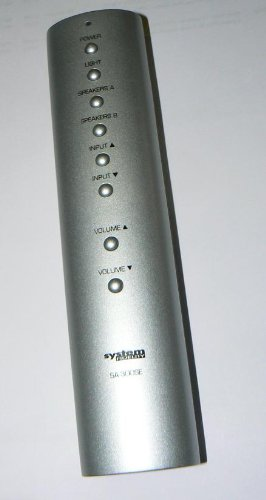 System-Fidelity-SA300-SE-Stereo-Vollverstrker-Farbe-Silber-2-x-75-Watt-mit-Fernbedienung-AB-Schaltung