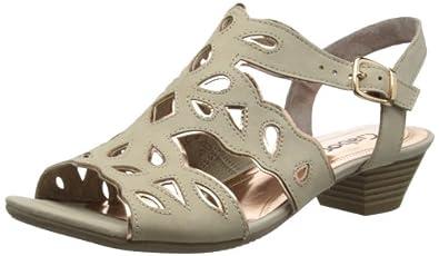 Gabor Womens Castle Fashion Sandals 85.852.12 Beige 5 UK, 38 EU