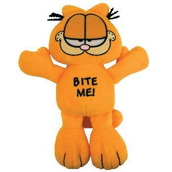 TY Bow Wow Beanies  Garfield  - Bite Me - Buy TY Bow Wow Beanies  Garfield  - Bite Me - Purchase TY Bow Wow Beanies  Garfield  - Bite Me (Ty, Toys & Games,Categories,Stuffed Animals & Toys,Animals)
