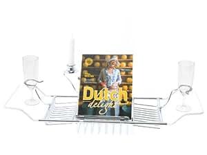 PT LIVING Badewanneauflage chrom BOX32 Design