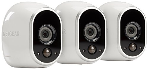 Best Review Of Arlo Smart Home Security Camera System - 3 HD, 100% Wire-Free, Indoor/Outdoor Cameras...