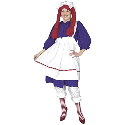 Rag Doll Adult Costume (Size: X-Large 14-16)