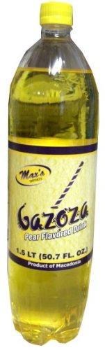 Pear Soda, Gazoza Soft Drink, 1.5 L