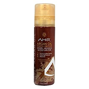 Amir Argan Oil Touch of Bronze Sunless & Bronzing Moisturizer, 7.0 fl. oz.