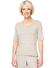 Classic Collection Tonal Striped Top