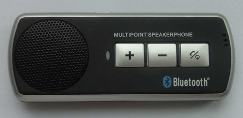 Champtek Bluetooth V3.0 Hands-Free Multipoint Speakerphone