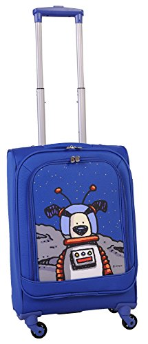 ed-heck-moon-dog-spinner-luggage-21-inch-true-blue-one-size