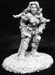 Elia Shadowfeet, Female Halfling Thief - 1