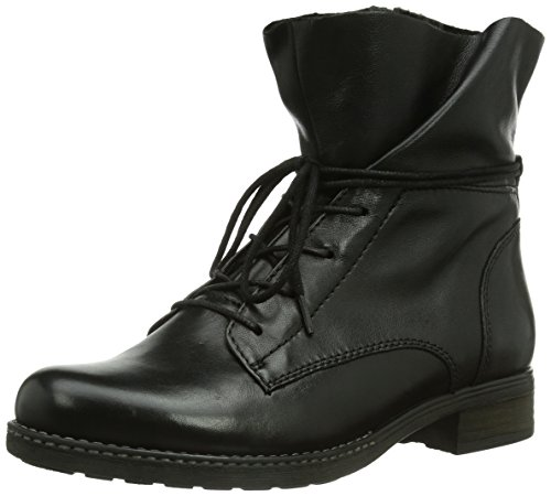gabor shoes gabor comfort damen biker boots schwarz schwarz mel 41 eu 7 5 damen uk. Black Bedroom Furniture Sets. Home Design Ideas