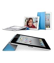 DELITE - Premium Flip Case cover for Apple iPad Air 2 (iPad 6) Tablet - Sky Blue