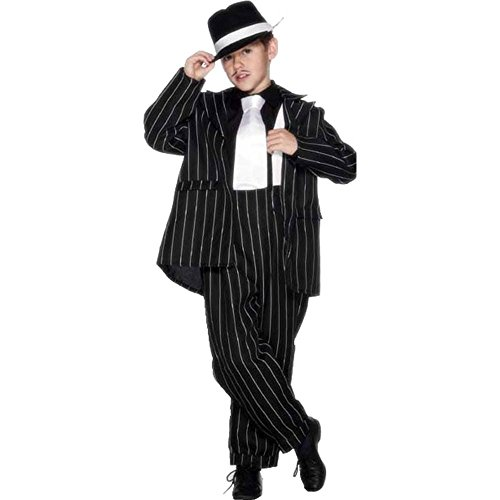 Great Group Halloween Costumes: The Addams Family - Child Gangster (Gomez Addams) Zoot Suit Costume by Smiffy's