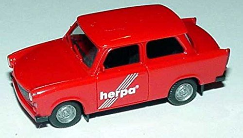 Herpa-3086-Trabant-601S-rot-Herpa-Fertigmodell-Modellauto-187