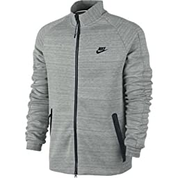 Nike Tech 98 Mens Gray 1MM Track Jacket (Large)