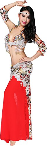 Abby Women's FF102 Sexy Noble India Belly Oriental Dance Practice Show Costume
