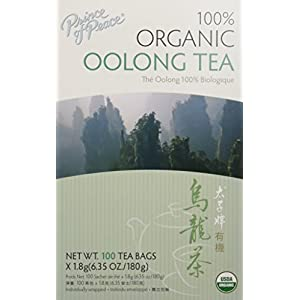 Prince Of Peace 100% Organic Oolong Tea-100 Tea Bags