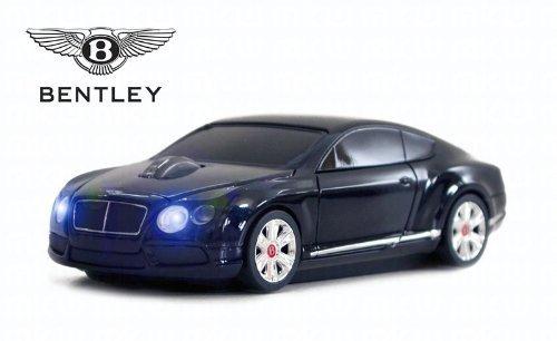 Bentley Continental GT V8 Wireless Auto-Mouse (Nero) Senza fili ottico
